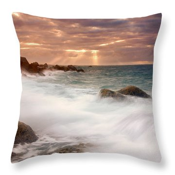 From Above Throw Pillow by Mike  Dawson
