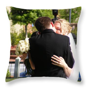 From All Sides Throw Pillow