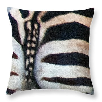 Throw Pillow featuring the photograph From Behind by Hanny Heim