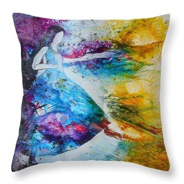 From Captivity To Creativity Throw Pillow