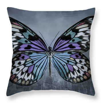 From Change To Beauty Throw Pillow