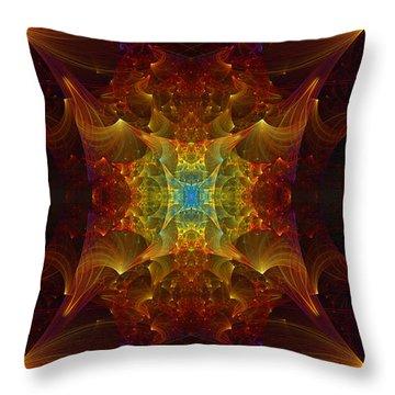 From Chaos Arisen Throw Pillow