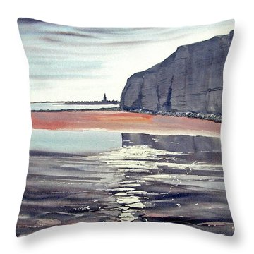 From Dane's Dyke Towards Bridlington Throw Pillow