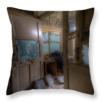 Throw Pillow featuring the digital art From Darkness by Nathan Wright