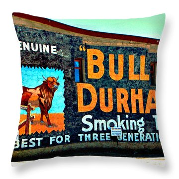 From Days Gone By Throw Pillow
