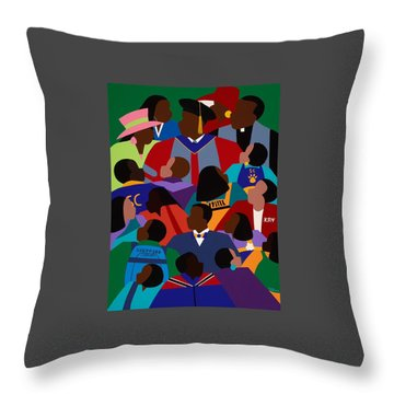 From Eminence To Excellence Throw Pillow