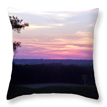 Throw Pillow featuring the photograph From Here To Eternity by Betty Northcutt