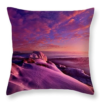 Throw Pillow featuring the photograph From Inside The Heart Of Each by Phil Koch