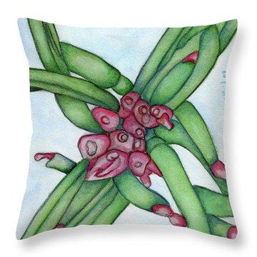 From My Garden 3 Throw Pillow