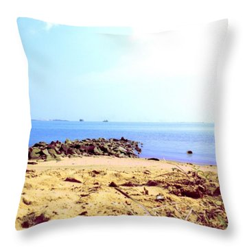 From My #photoarchive... The #three Throw Pillow