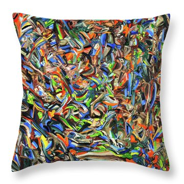 From My Planet Of Origin Throw Pillow