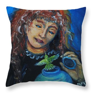 From Our Sweet Mother's Ashes Throw Pillow