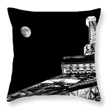 From Paris With Love Throw Pillow by Az Jackson
