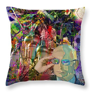 From Russia With Love Throw Pillow