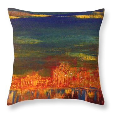 From Schuylkill Throw Pillow
