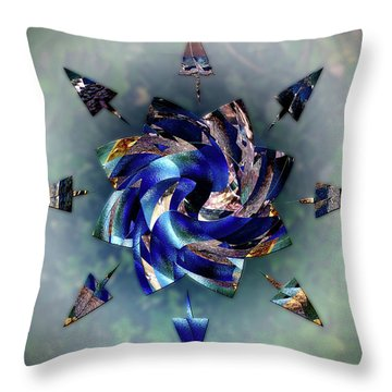 From Seeds Of Kaos Throw Pillow by Another Dimension Art