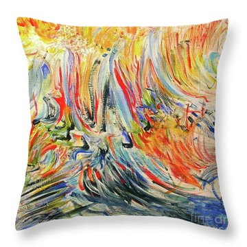 From Soul To Canvas Throw Pillow