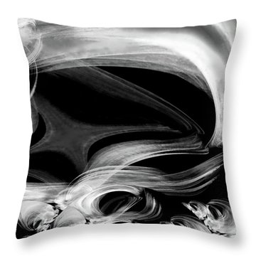 From The Ancients Throw Pillow by Michael Durst