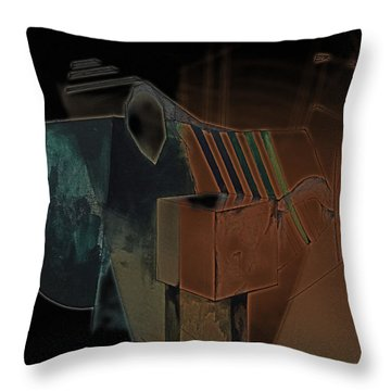 From The Begining Throw Pillow