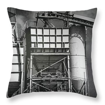 From The Big Toolbox Throw Pillow by Wendy J St Christopher