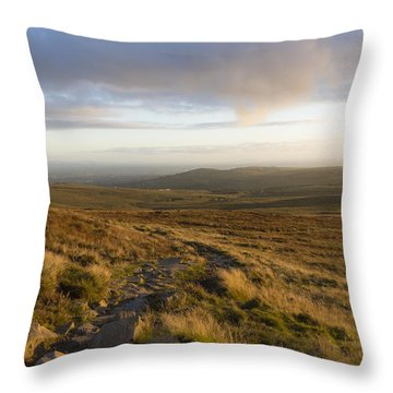 From The Black Mountain Throw Pillow