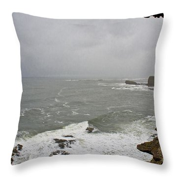 From The Castle Wall Throw Pillow