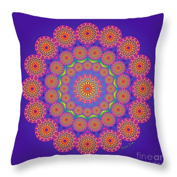 From The Center Throw Pillow