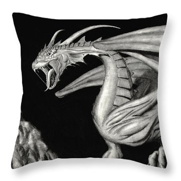 From The Dark Throw Pillow