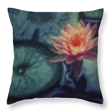 From The Depths Throw Pillow