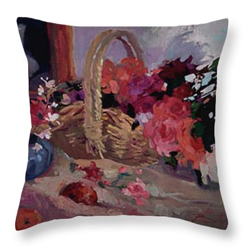 From The Garden Throw Pillow