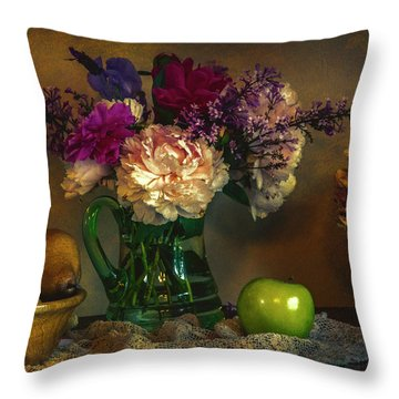 From The Garden To The Table Throw Pillow