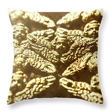 From The Golden Age Throw Pillow