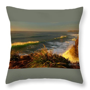 From The Headland Throw Pillow