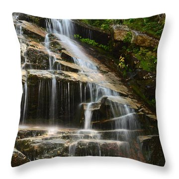 From The Highest Peaks Throw Pillow