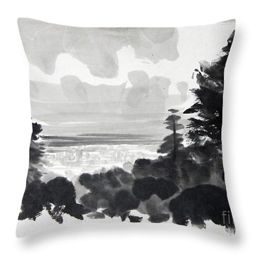 From The Hill Throw Pillow