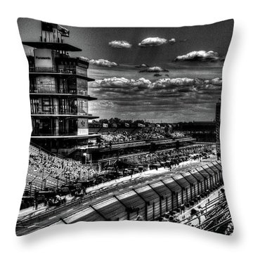 From The Hulman Suites  Throw Pillow by Josh Williams