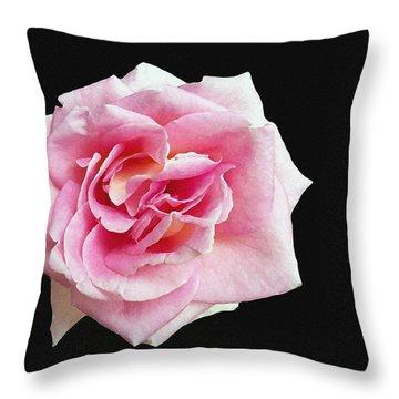 From The Rose Garden Throw Pillow