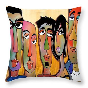 From The Rough Side Throw Pillow by Tom Fedro - Fidostudio