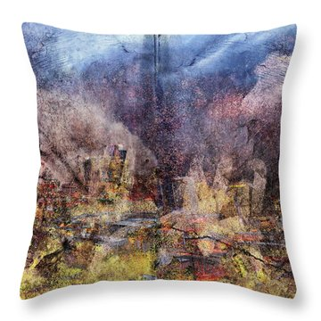 From The Rubble Throw Pillow