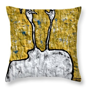 From The Same Cloth Throw Pillow by Mario Perron