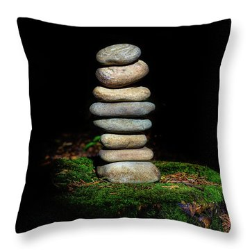 Throw Pillow featuring the photograph From The Shadows by Marco Oliveira