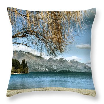 From The Shore Throw Pillow