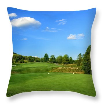 From The Tee Throw Pillow