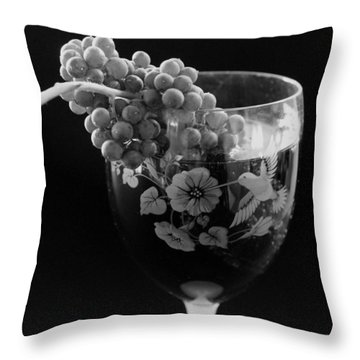 From The Vine Throw Pillow