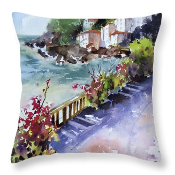 From The Walkway Throw Pillow