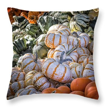 From Thy Bounty Throw Pillow by Caitlyn Grasso