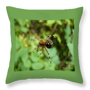 From Under Throw Pillow