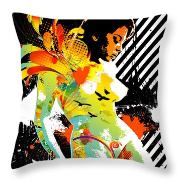 From Within Throw Pillow by Chris Andruskiewicz