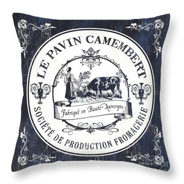 Fromage Label 1 Throw Pillow