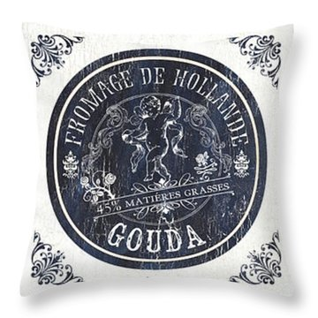 Fromage Panel 2 Throw Pillow